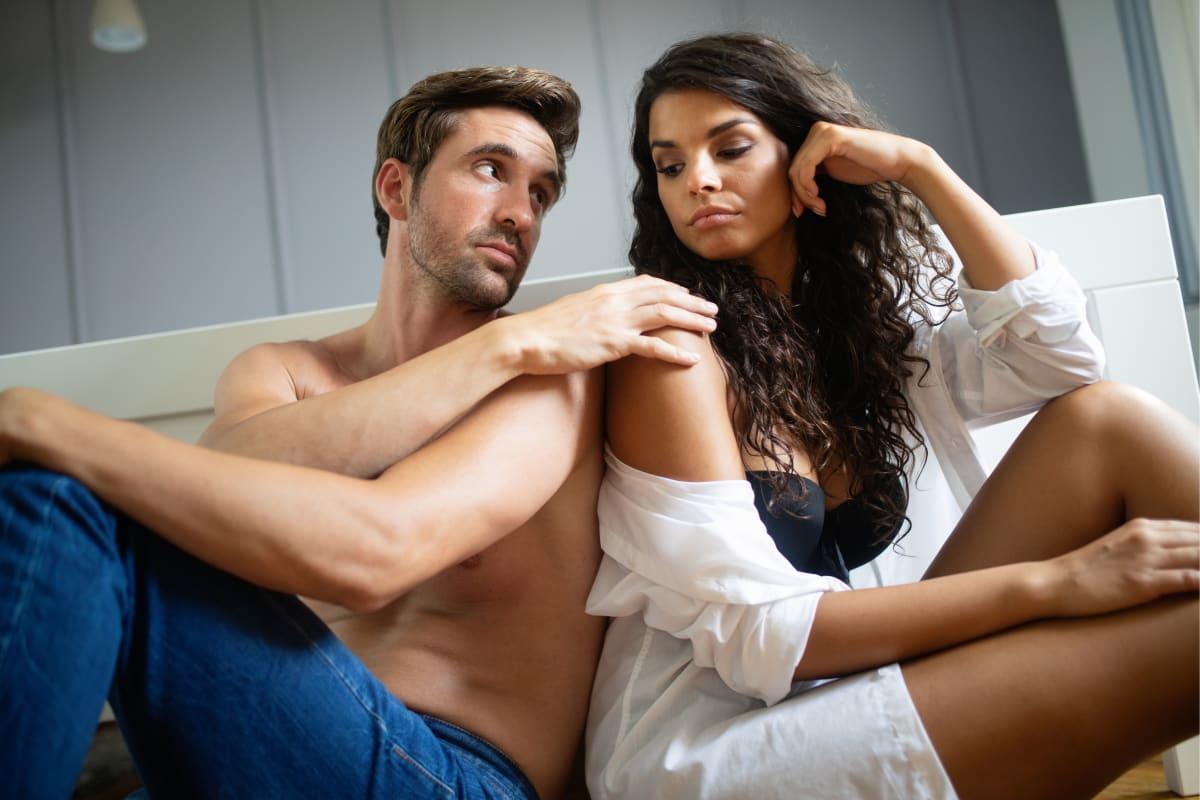 mujer no quiere sexo