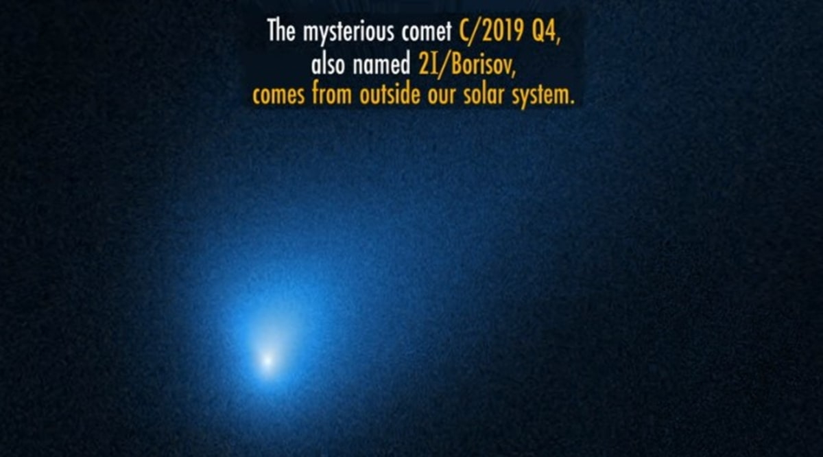 cometa fantasmal Borisov