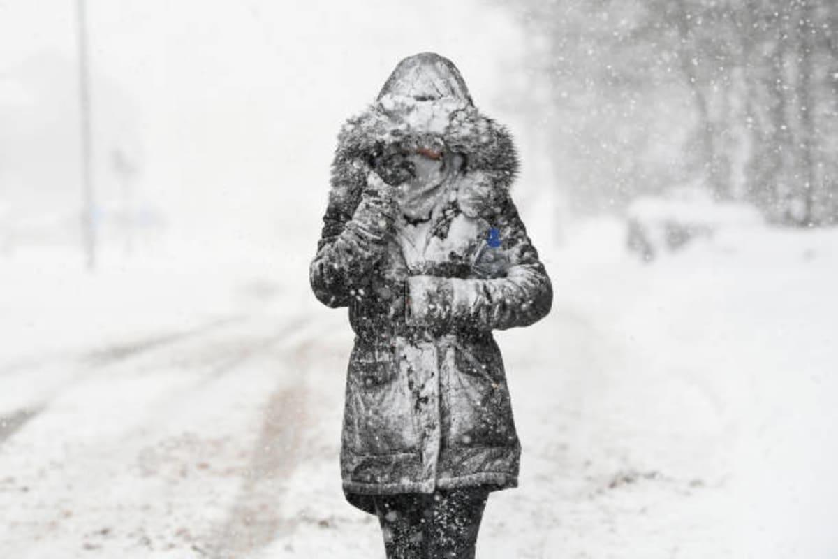 Clima invernal pone en alerta a más de 35 millones de personas en EE. UU.