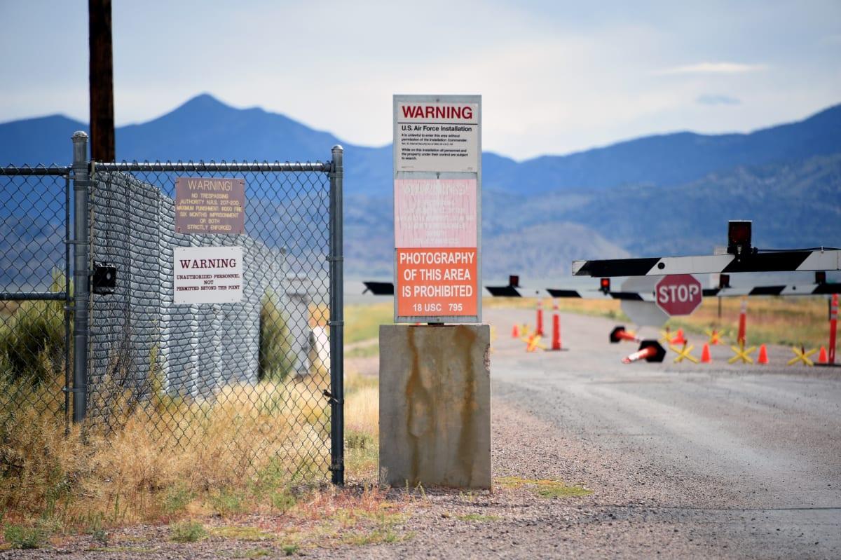 objetos misteriosos Nevada