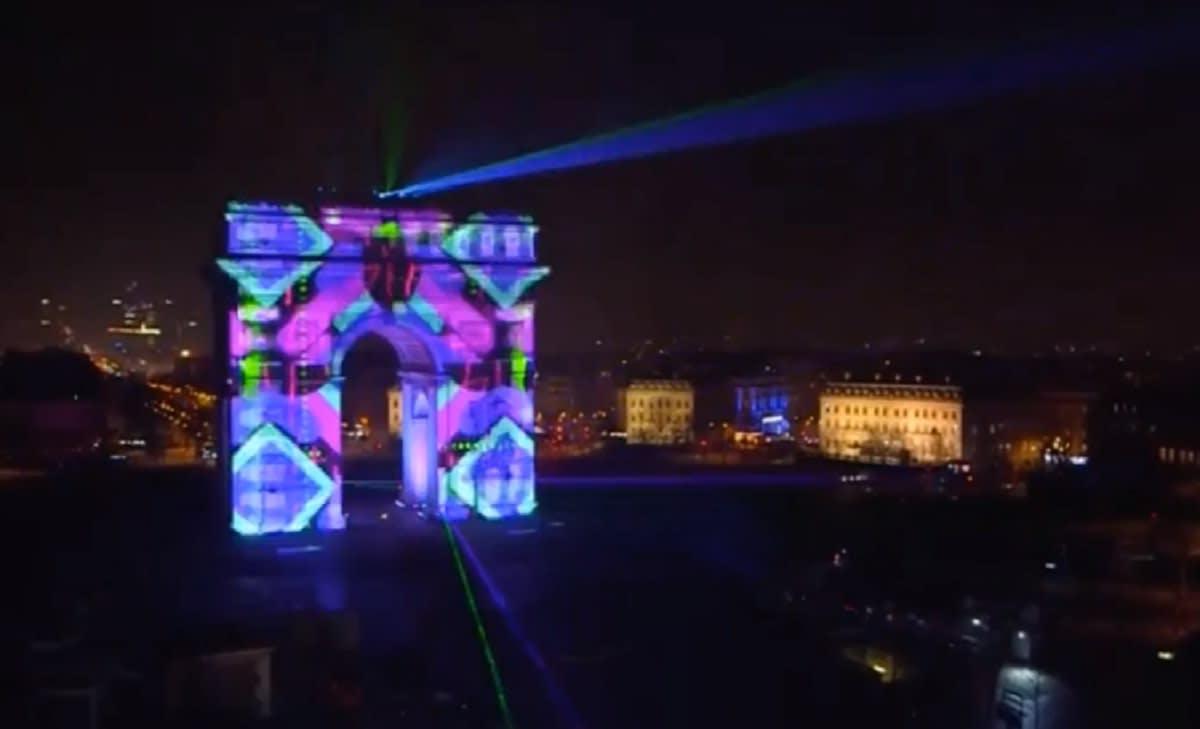Arco de Triunfo-paris-2020-luces