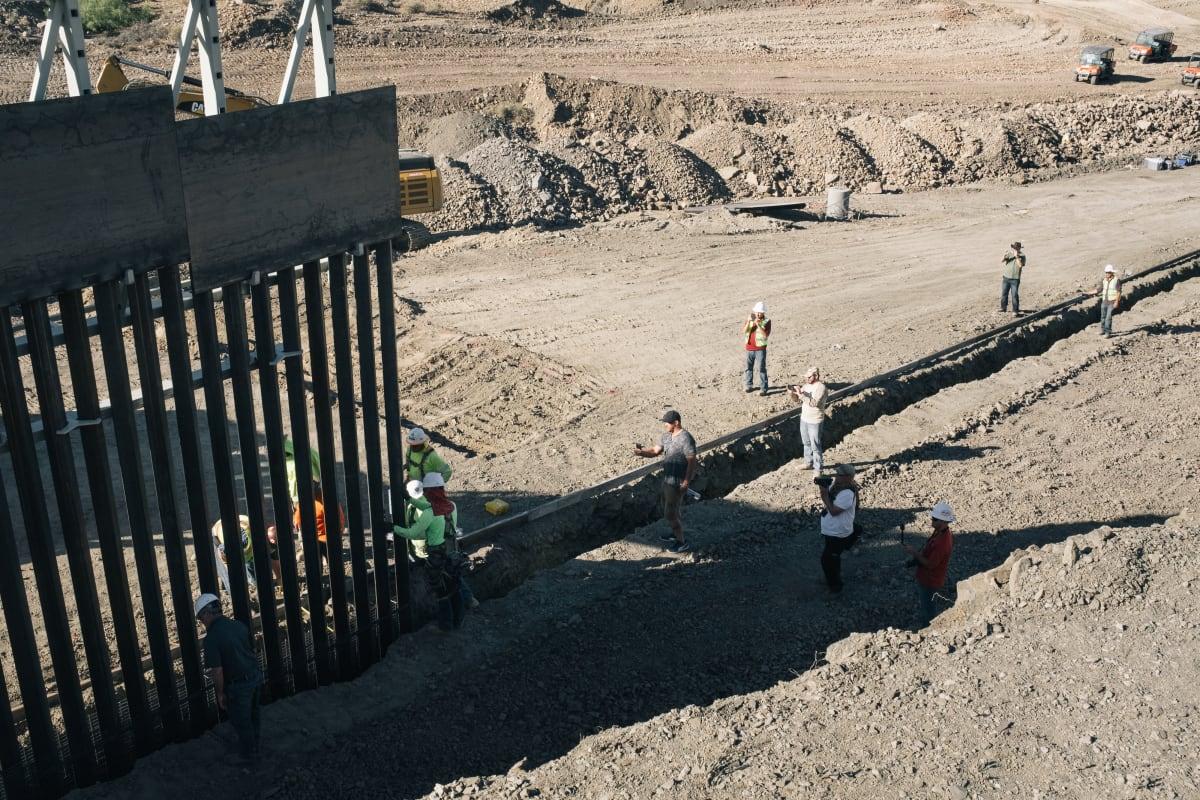 Trump Muro fronterizo