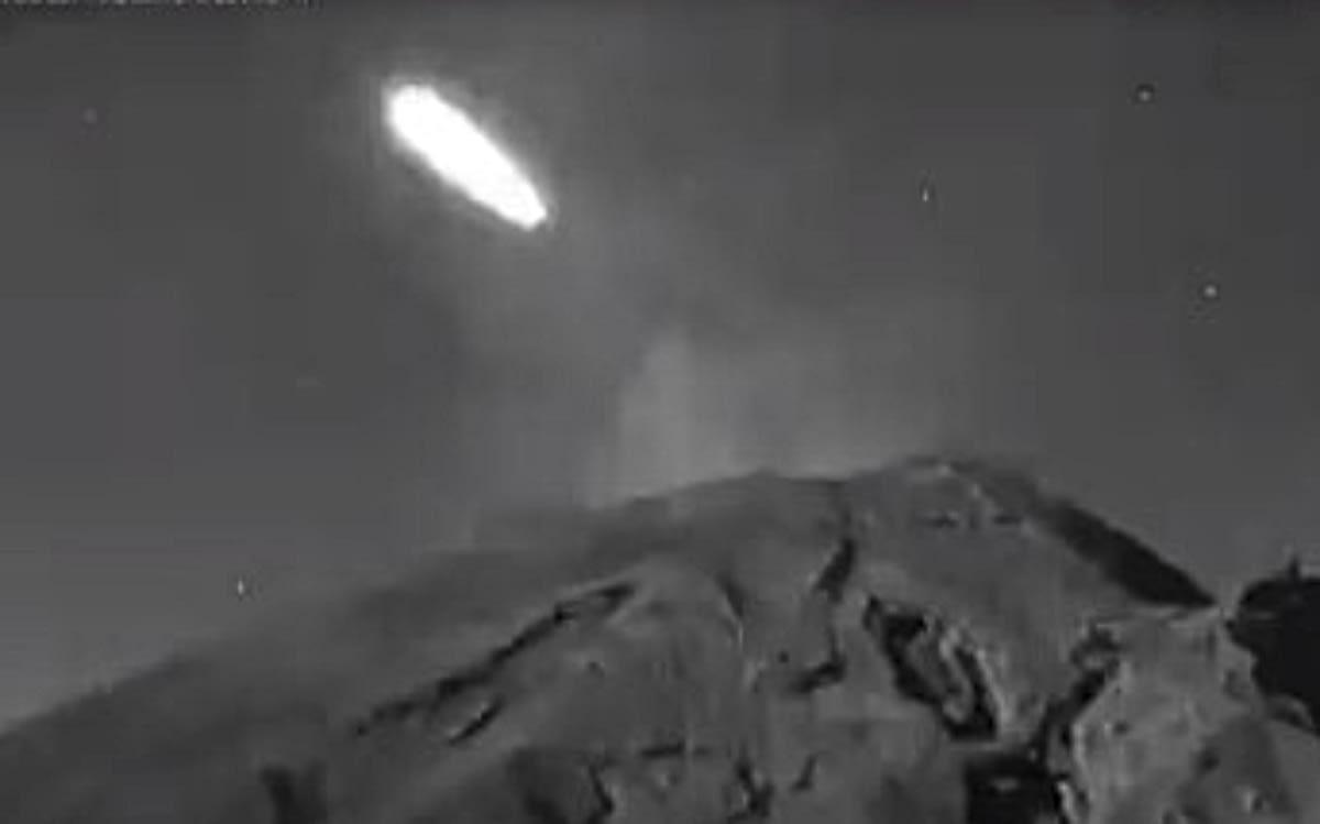 Popocateptl visitado por el gran asteroide que vigilaba la NASA