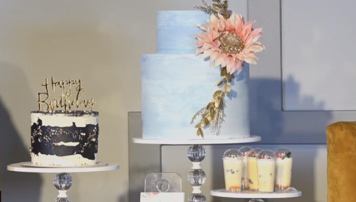 Mesa de postre-cakes pops -dulces-fiesta
