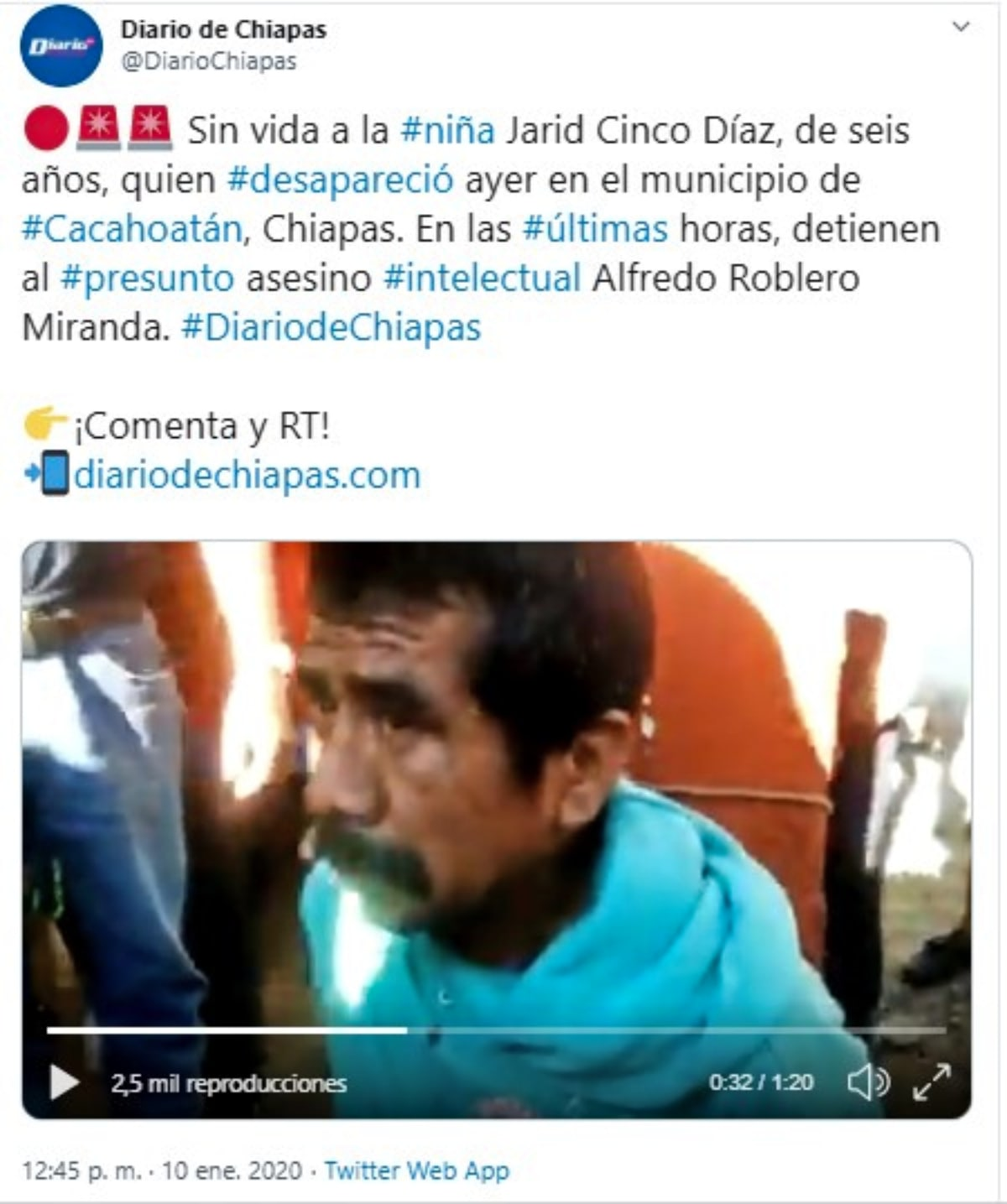 Lo quemaron vivo por violar y matar a una nena, por Mario Guevara