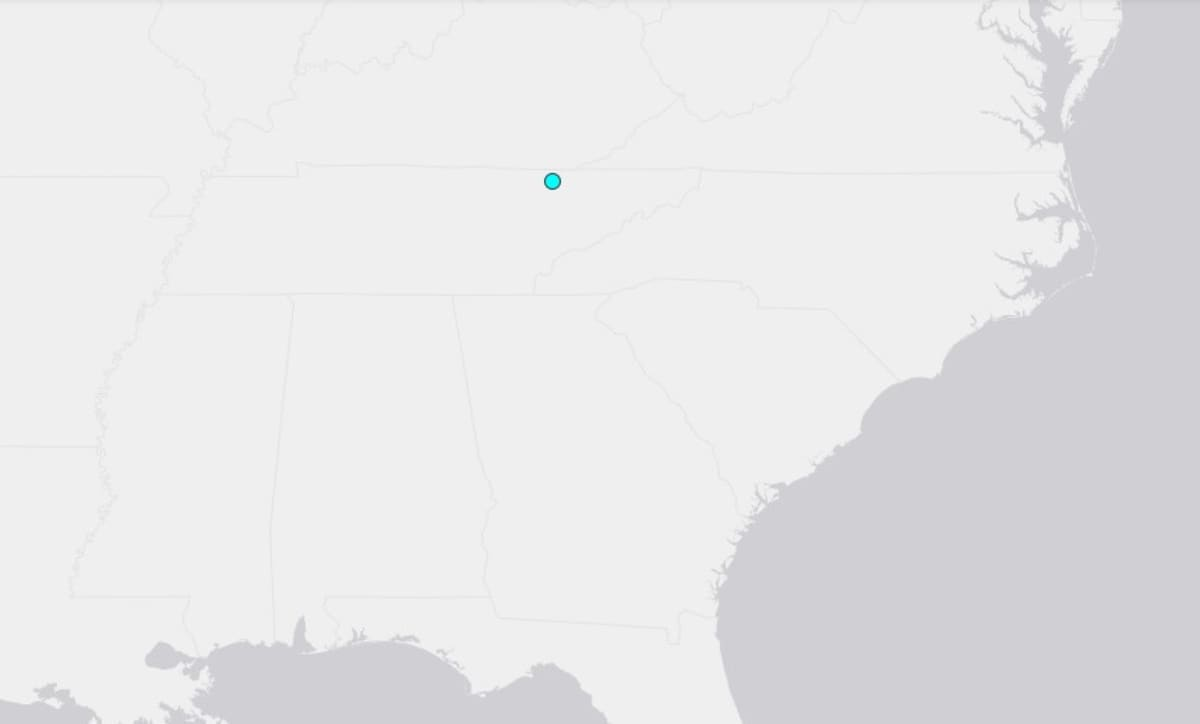 sismo Tennessee