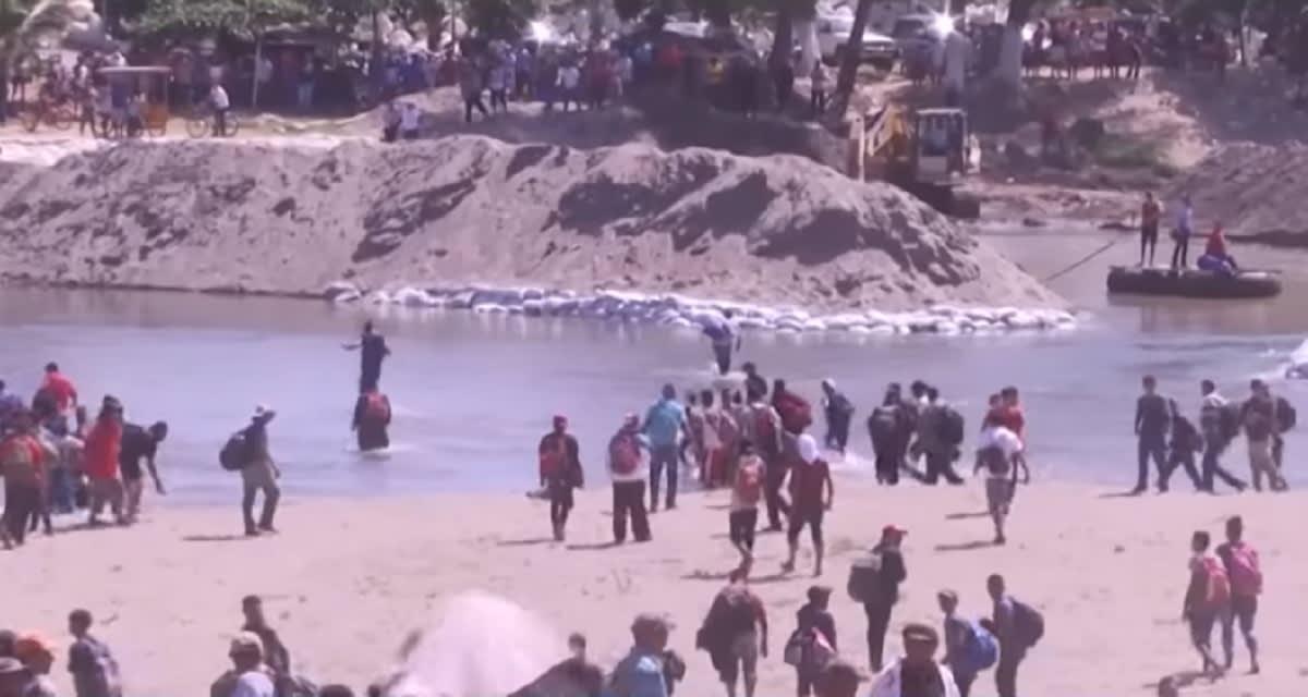 Gobierno de México-caravana-migrantes-Suchiate