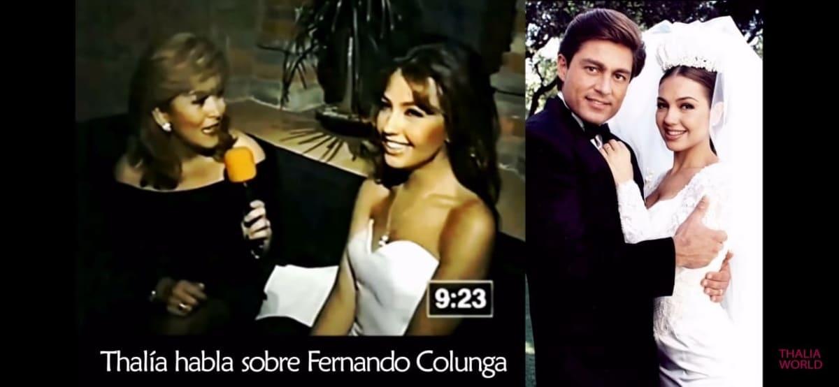 Thalía amorío Colunga