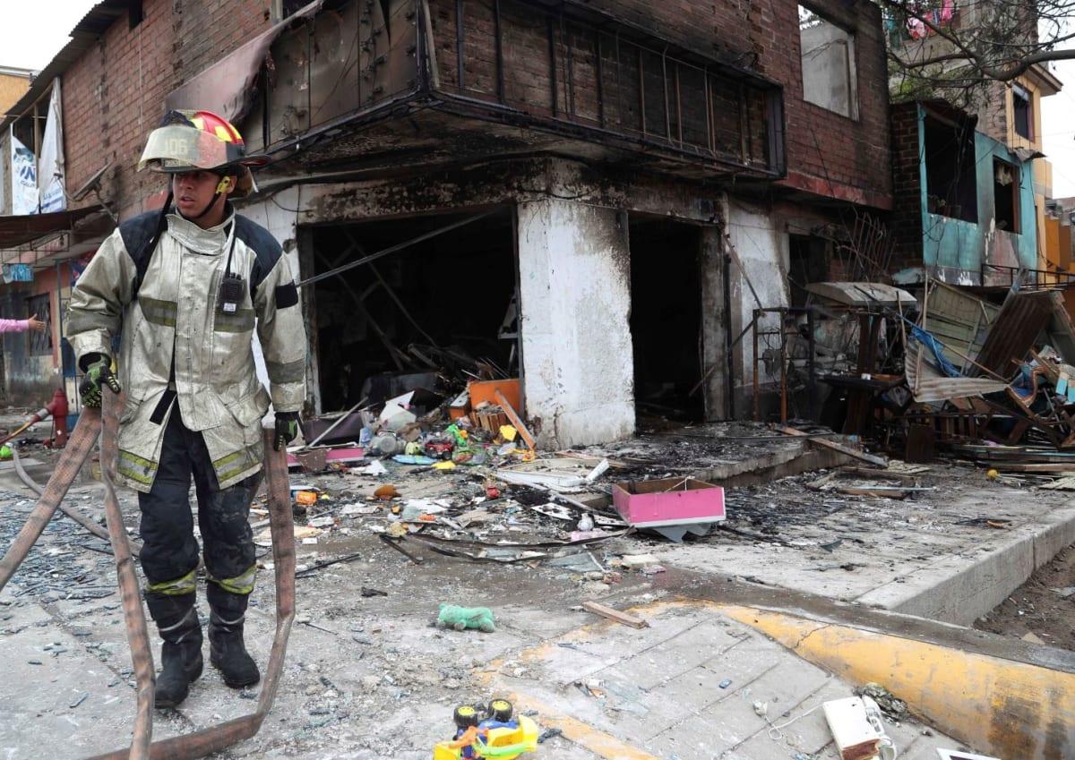 explosión en Lima