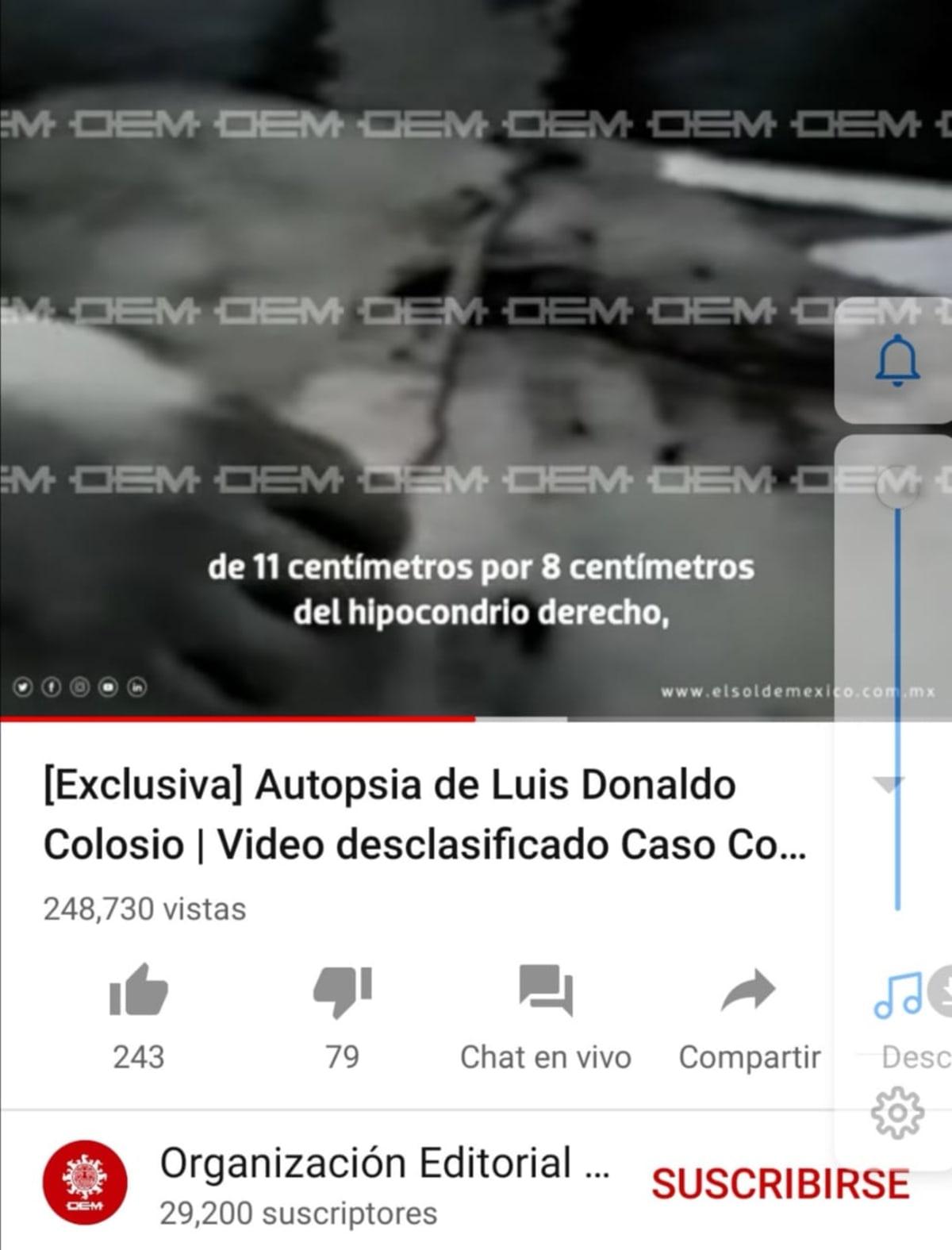 Autopsia Colosio