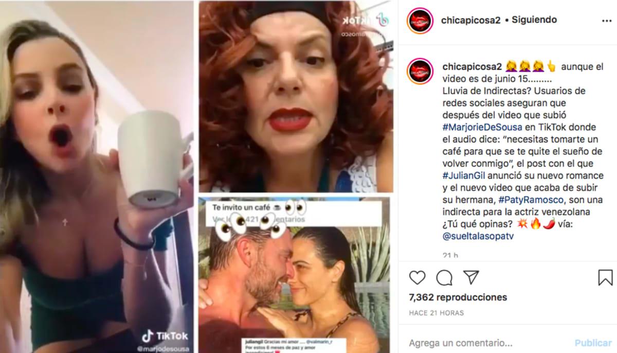 Marjorie de Sousa (Instagram Chicapicosa)