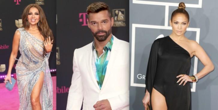 Thalía, Ricky Martin, JLo, Adamari López, coronavirus