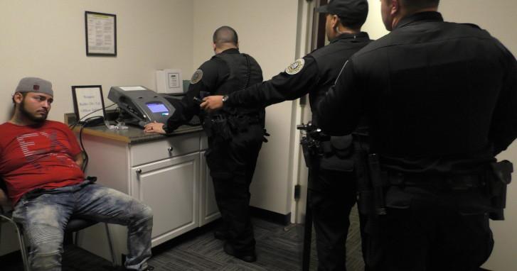 Policía cazaborrachos