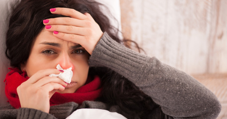 temporada de gripe o flu