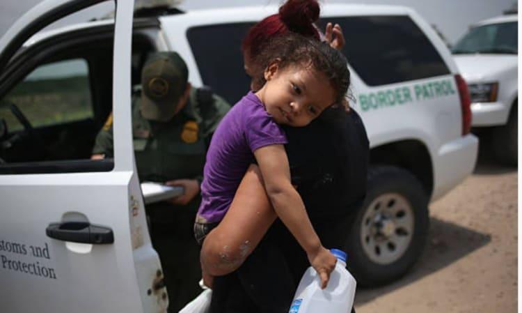 inmigrantes Honduras Guatemala, El Salvador, niños, separados, hijos, frontera, México, tolerancia cero