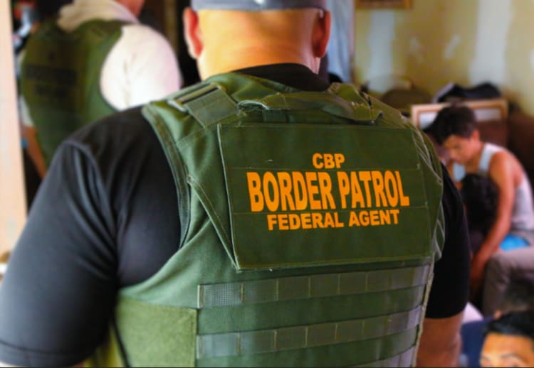 Arrestos en la frontera