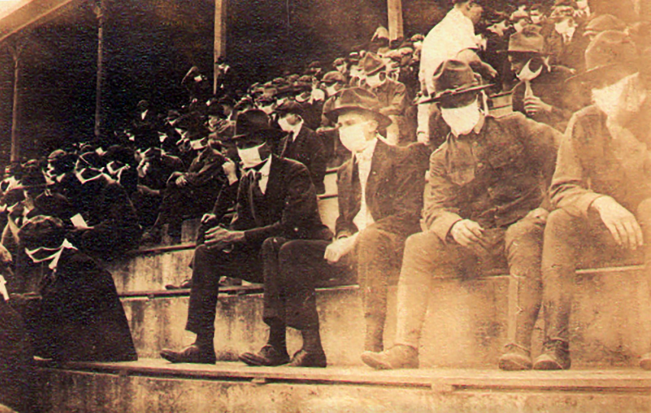 foto pandemia 1918