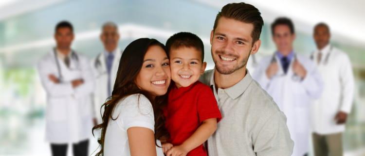 seguro de salud, familia cubierta