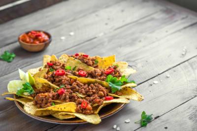 nachos receta