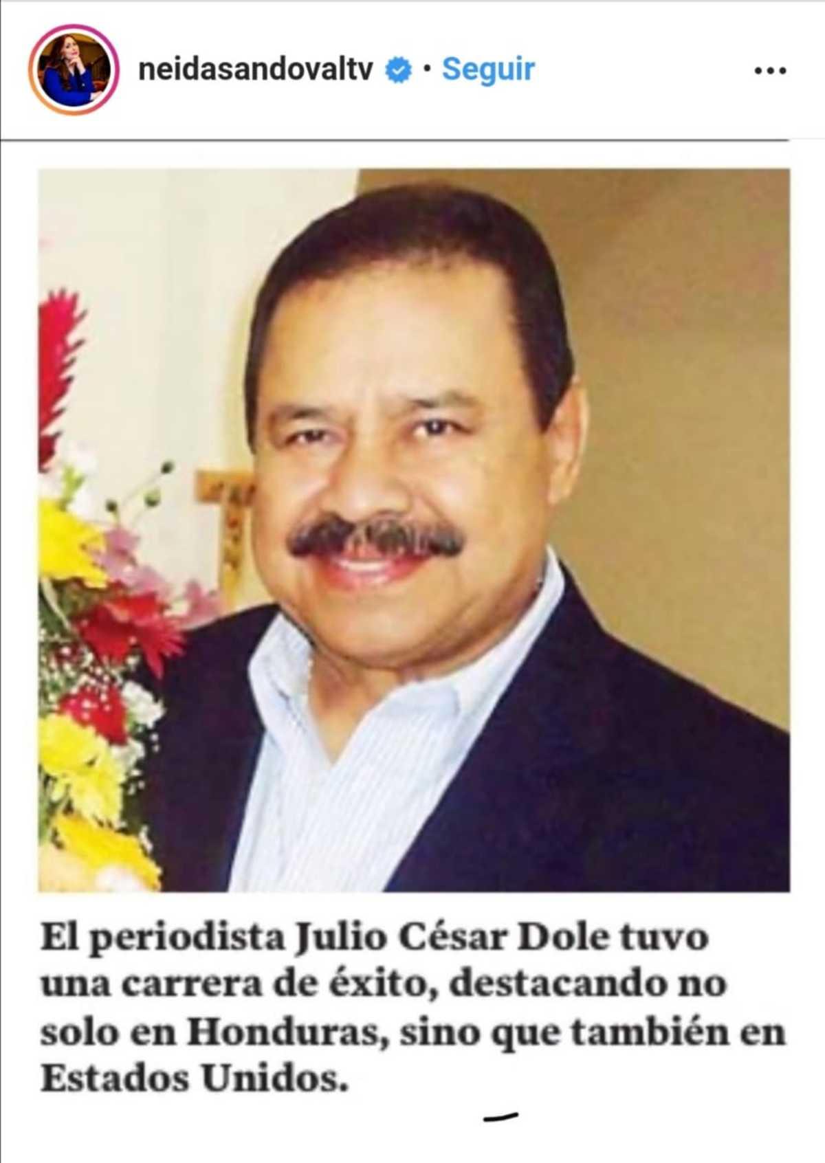 Don Francisco voz programa Julio César Dole muerte