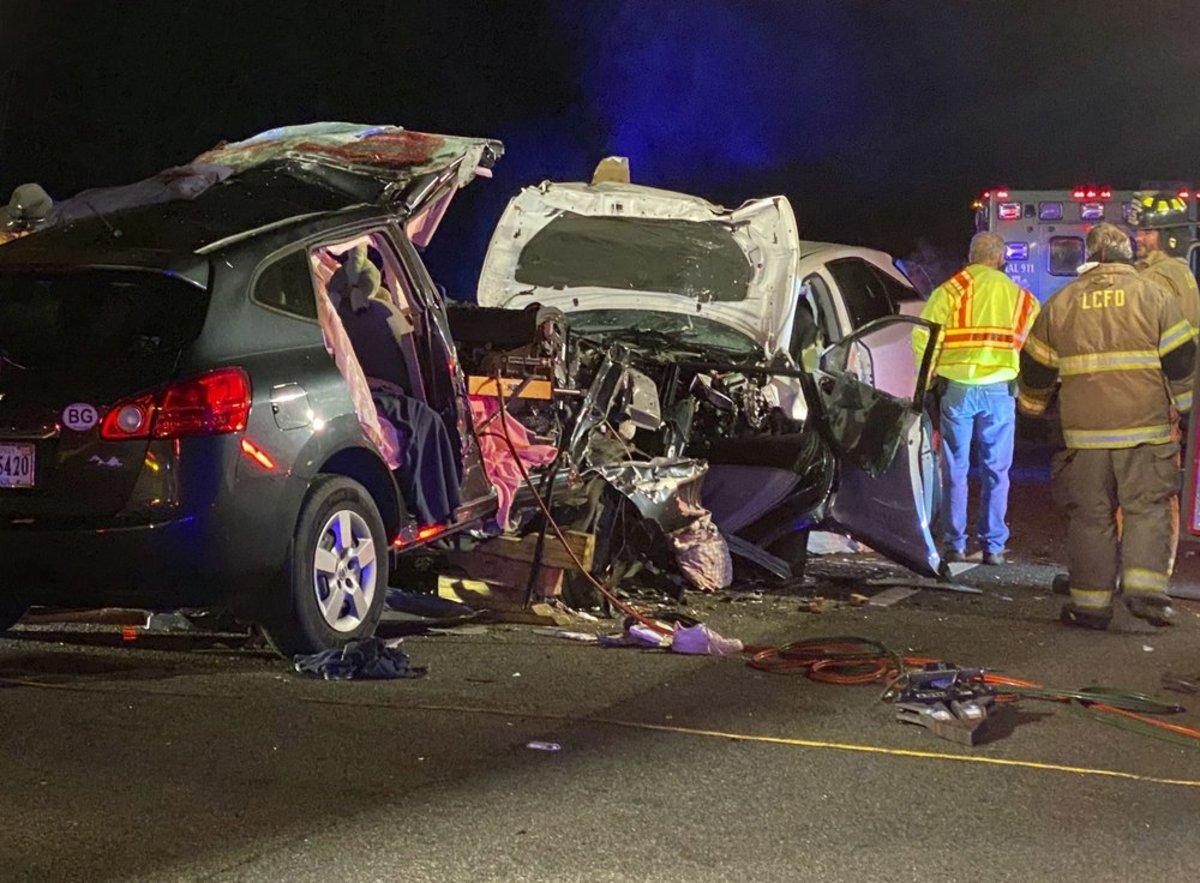 Mueren seis personas en accidente