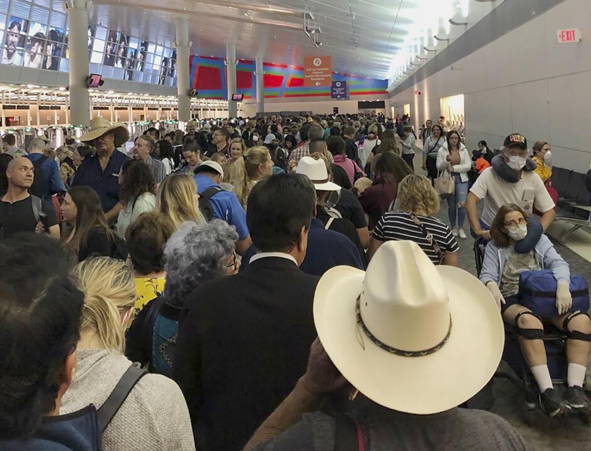 aeropuertos Estados Unidos coronavirus