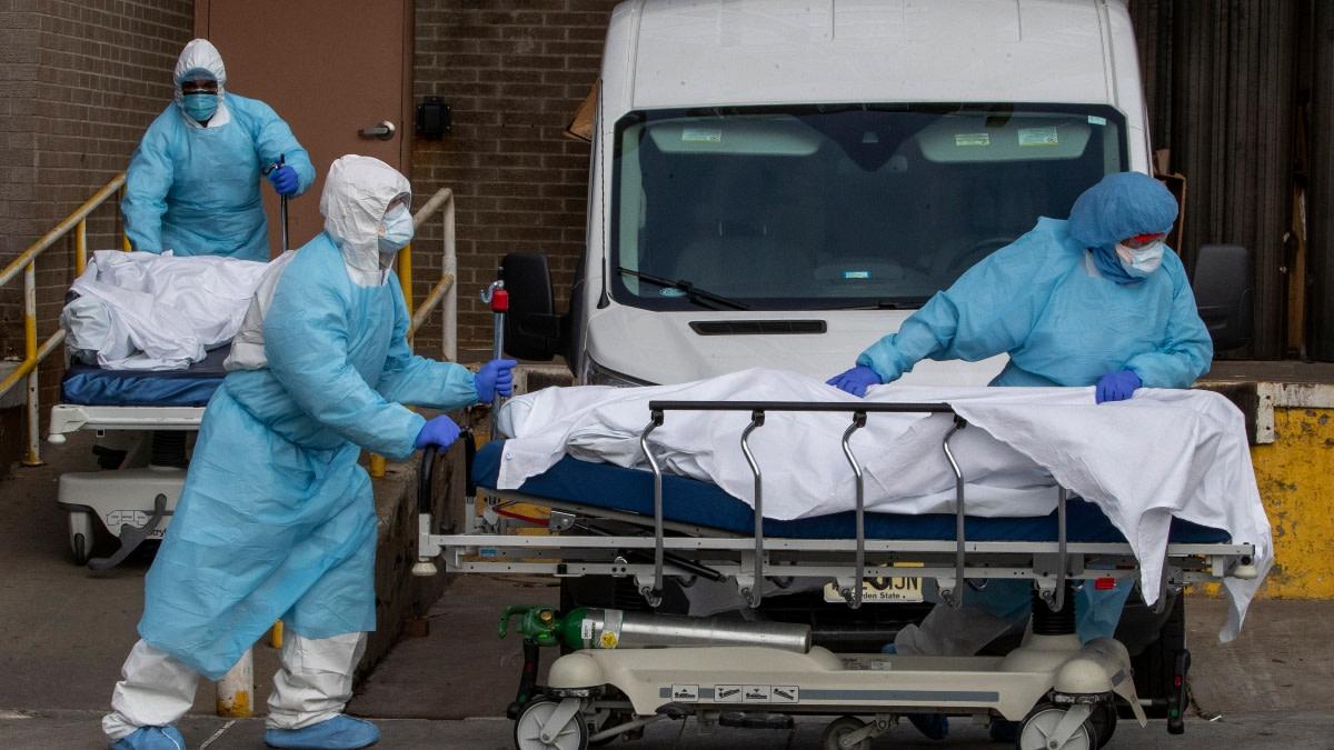 Coronavirus EEUU Record mundial de muertos en un día