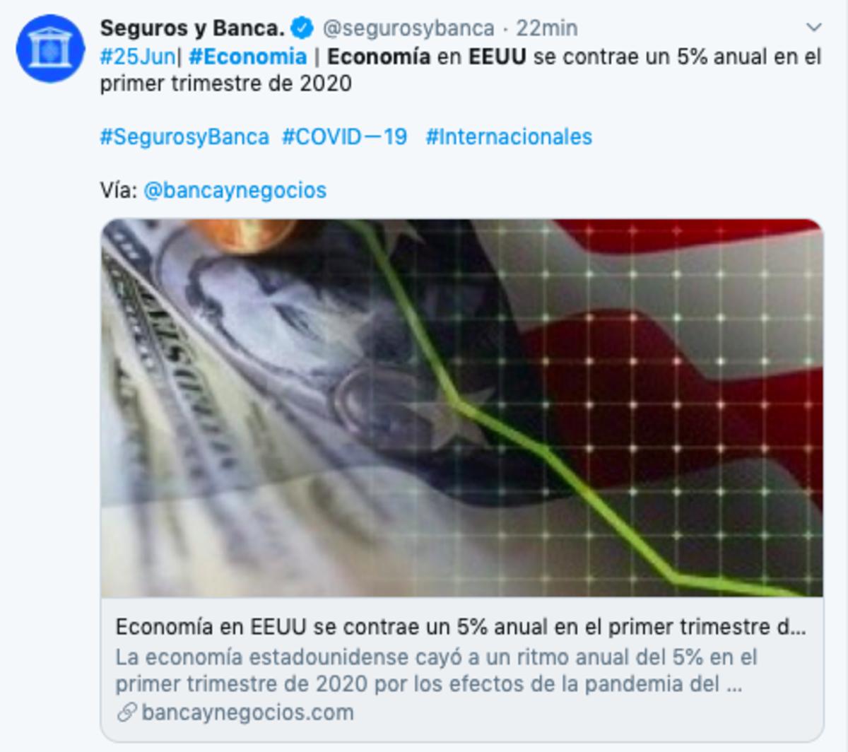 economía eeuu