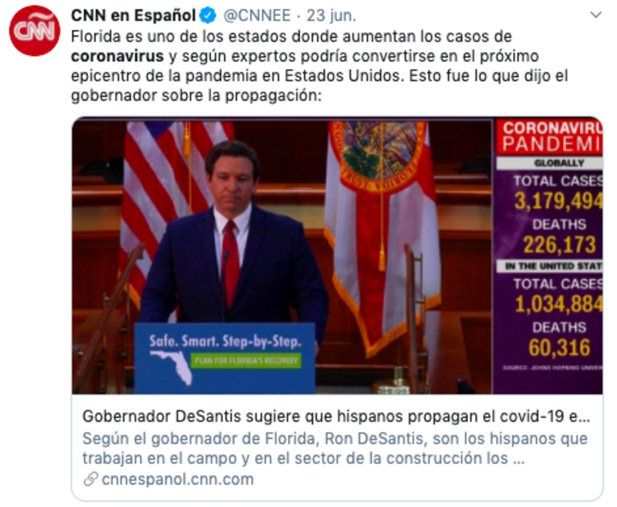 Hispanos coronavirus: aumentan casos entre los latinos