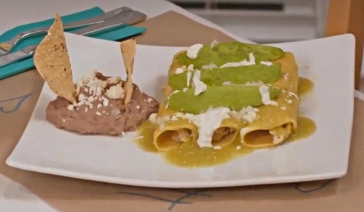 Enchiladas suizas: pasos para la preparación de la receta mexicana
