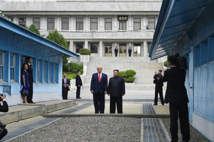 Kim Jong Un y Trump