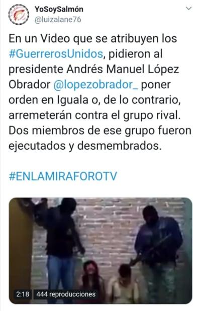 Guerreros Unidos Obrador
