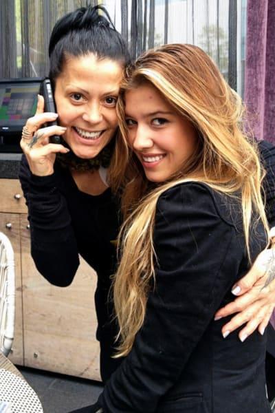 Alejandra Guzmán Stephanie Salas Michelle Salas Frida Sofía