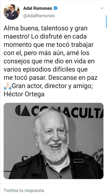 Muere actor mexicano Lucero, Adal Ramones lamentan muerte
