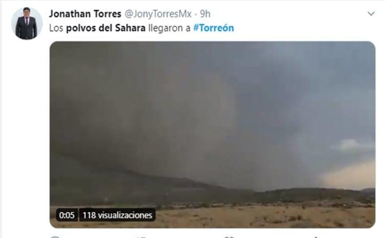Polvo Sahara Torreón