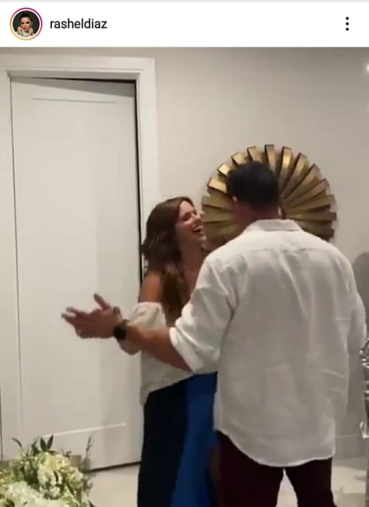 Rashel Díaz mocks Telemundo with a romantic trip with her husband Carlos García Un Nuevo Día