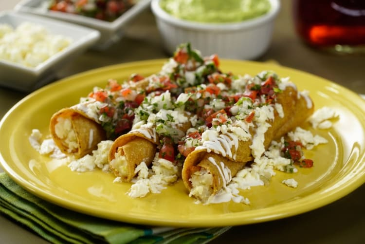 Golden tacos: easy and delicious recipes