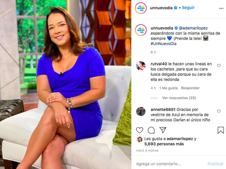 Adamari López dress (Instagram)