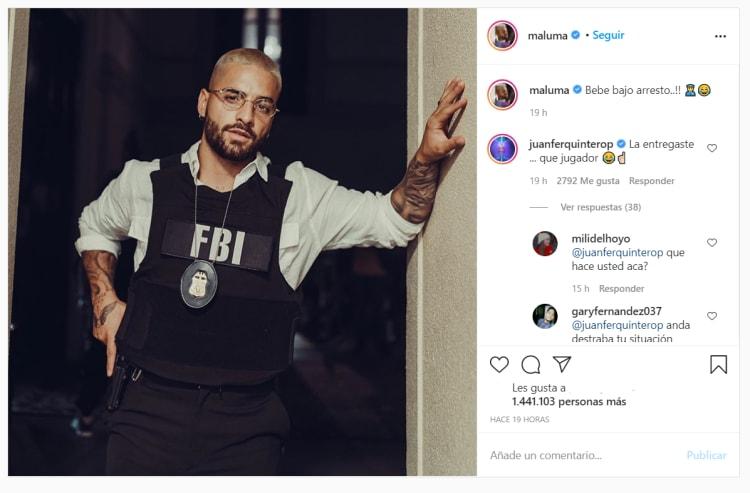 Maluma FBI