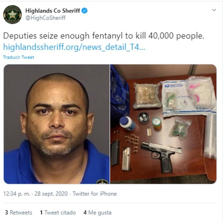 Hispanic Drug Arrested Florida