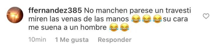 They attack Francisca Lachapel