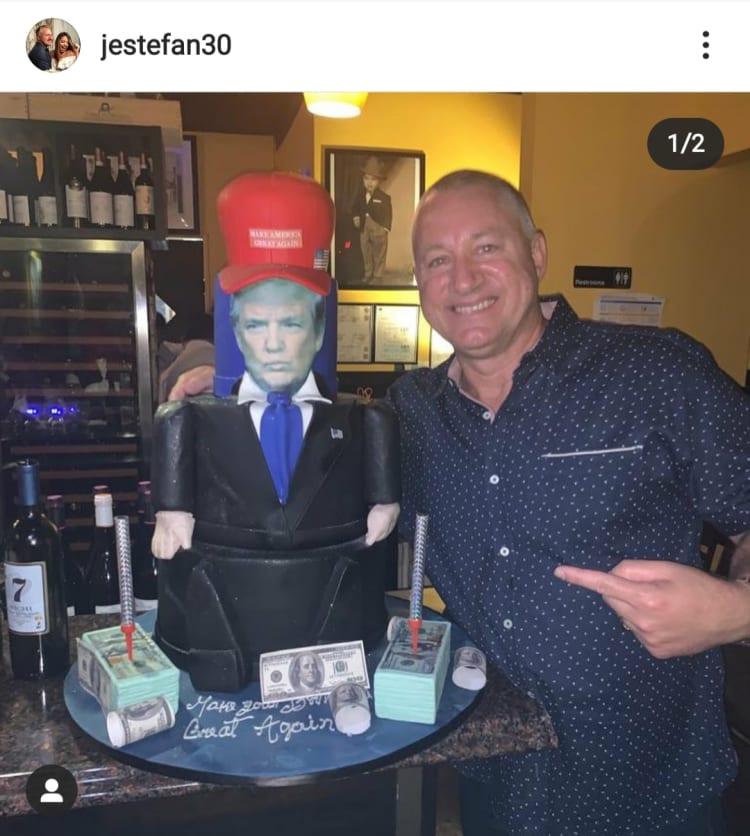 Hermano de Lili Estefan causa revuelo al decir que voten por Donald Trump Juan Estefan