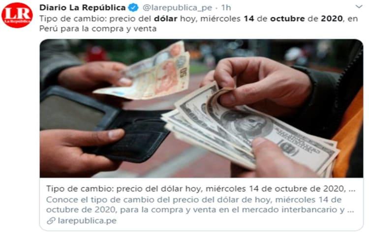 Peso mexicano 14 octubre