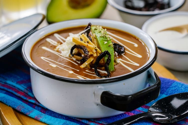 Mexican soups to warm up on cold days