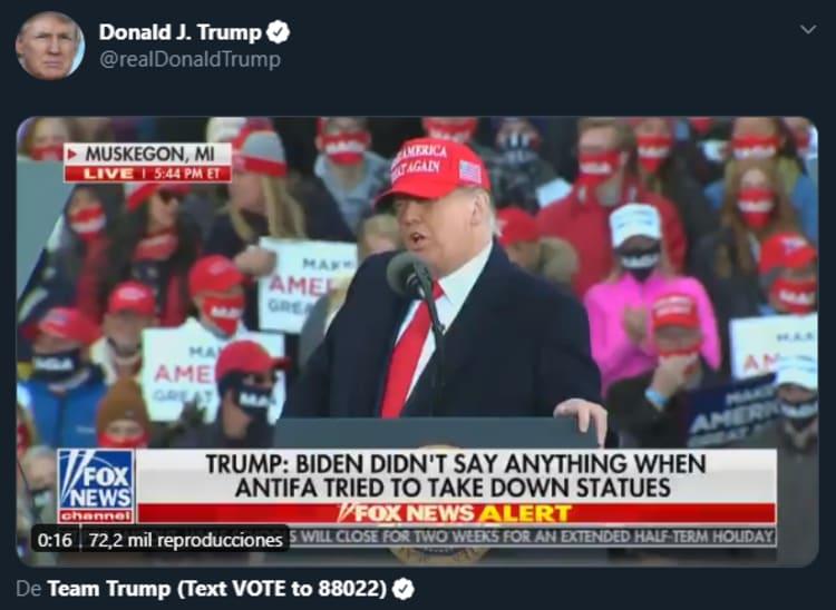 Trump columbus day