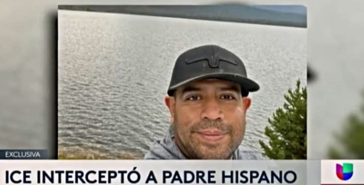ICE 'caza' padre hijo: Acorralados sin salida camino a la escuela (VIDEO)