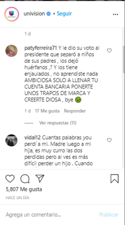 Lili Estefan ambiciosa