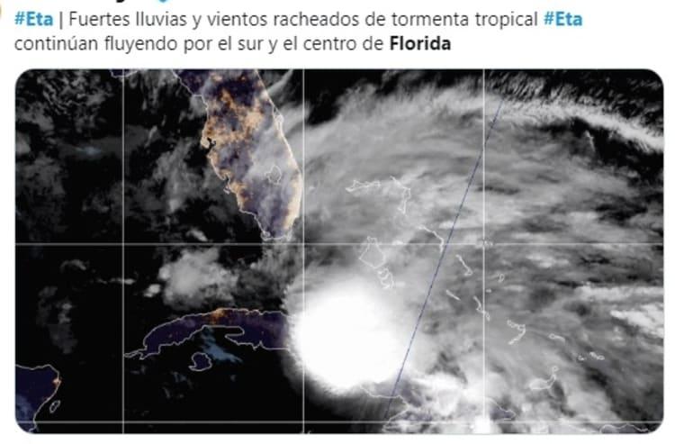 Florida tormenta Eta 1