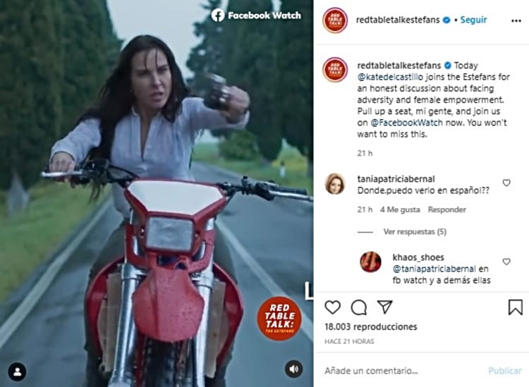 Kate del Castillo reappears: 'I sleep with a gun' (VIDEOS)