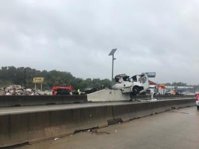 Inundaciones en Texas: tormenta Beta se estaciona en Houston